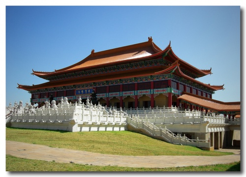 Nan Hua Buddhist Temple is the biggest Buddhist temple in Southern Africa and falls on the outskirts of Pretoria, in Bronkhorstspruit. It is the only Buddhist Temple in Africa and the third largest in the World.